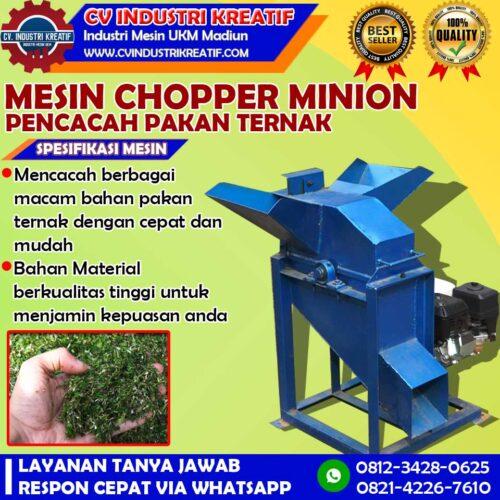 Choper minion